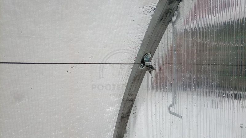 трос в теплицу для подвязки